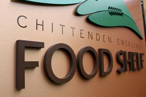 Chittenden Emergency Food Shelf: Signage & Wayfinding
