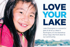 Community Sailing Center: Love Your Lake Microsite