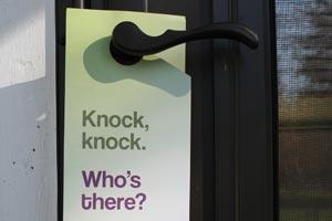 CarShare Vermont: Door Hanger