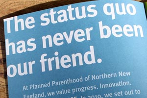 Planned Parenthood of Northern New England: 2010 Annual Report