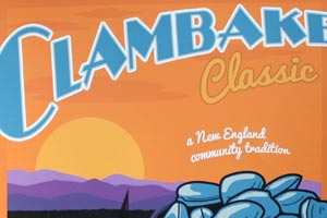 Community Sailing Center / Bluebird Tavern: Clambake Poster