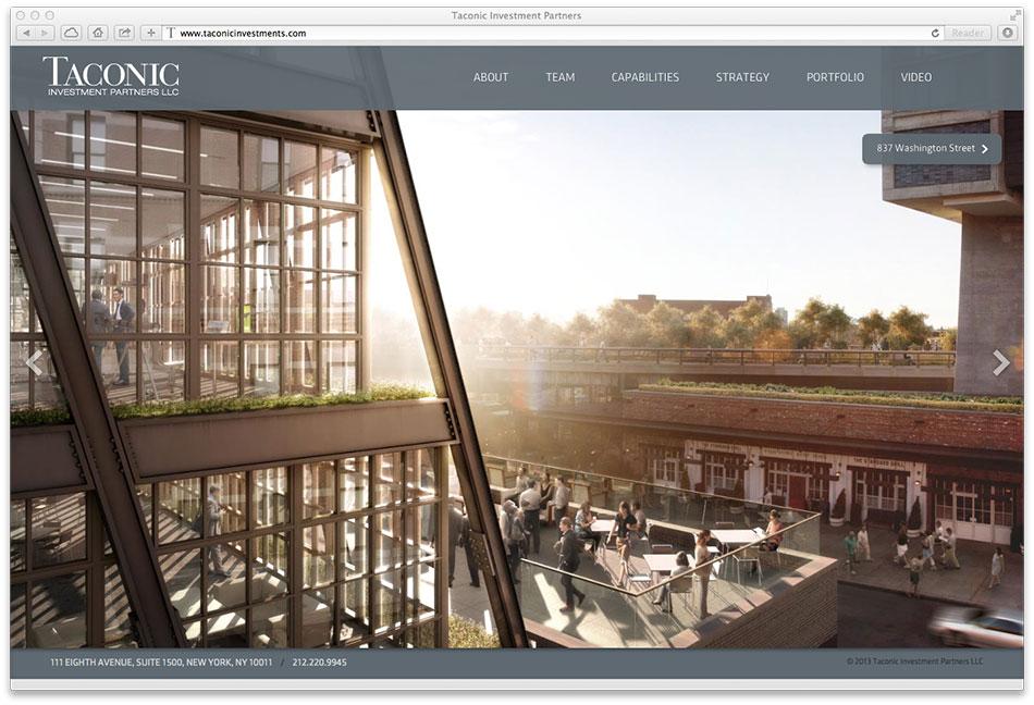 Taconic homepage