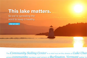 Community Sailing Center: Website