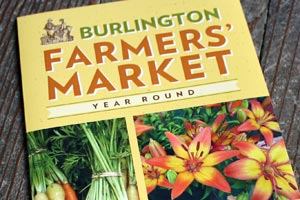Burlington Farmers' Market: Brochure