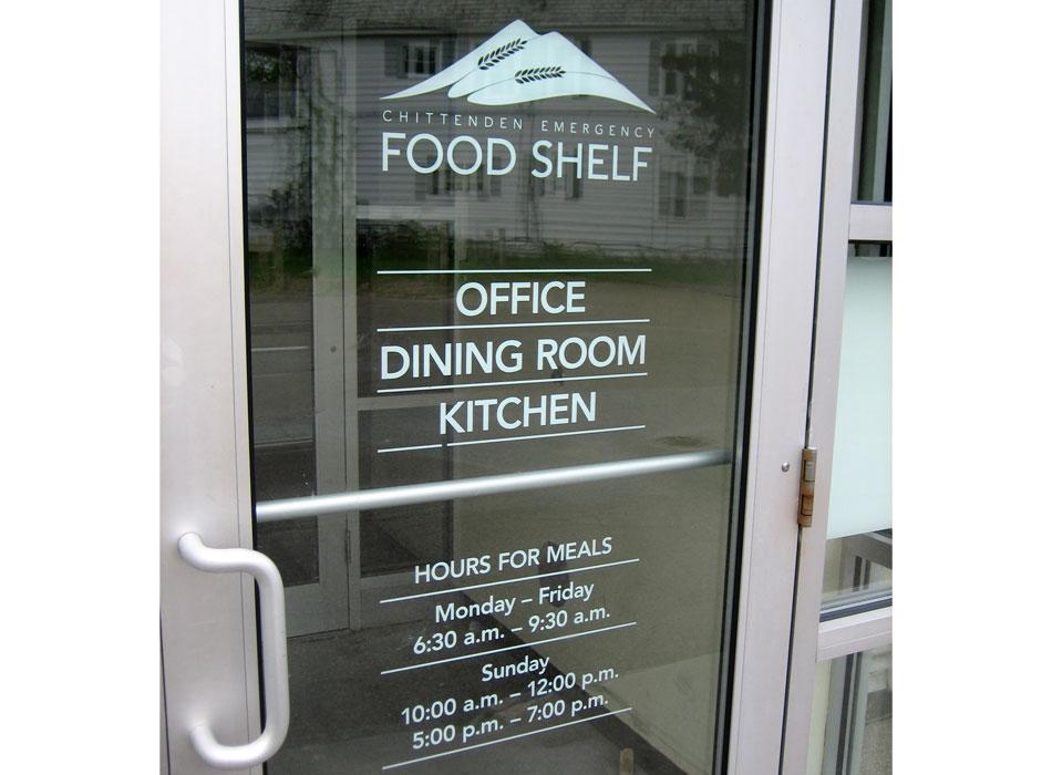CEFS wayfinding door signage