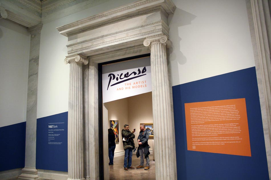 Albright-Knox <em>Picasso: The Artist & His Models</em>